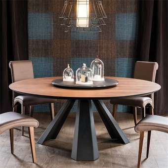 709-high quality modern light luxury metal dining table made by china luxury and modern furniture factory and company-furbyme (1)