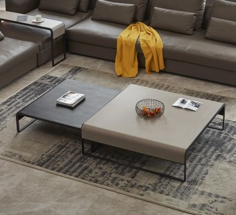 high quality modern light luxury metal coffee table made by china luxury and modern furniture factory and company-furbyme