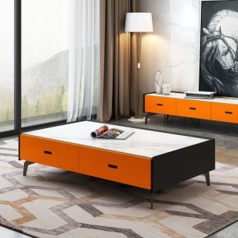 china high quality modern design mable top coffee table supplier and manufacturer-furbyme