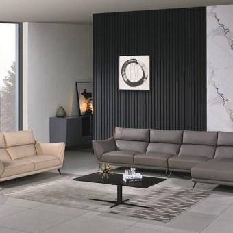 jxf3138China Modern High end Design Luxury Living Room Furniture Leather Sofa