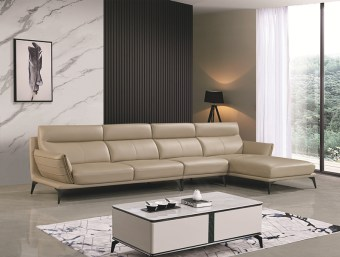 jxf3158 China Modern High end Design Luxury Living Room Furniture Leather Sofa