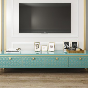 byf462 China High end design Living Room Furniture Luxury TV Cabinet