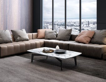 byf460 China Modern Luxury Home Furniture High End Living Room Furniture Coffee Table Center Table