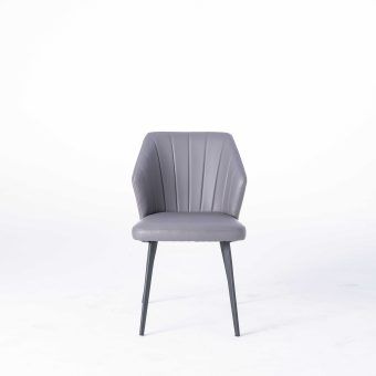 dkf08-China modern design home kitchen furniture leather dining chair company manufacturer (6)