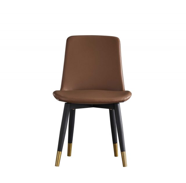 dkf12-china modern design home kitchen furniture leather dining chair manufacturer shop (1)
