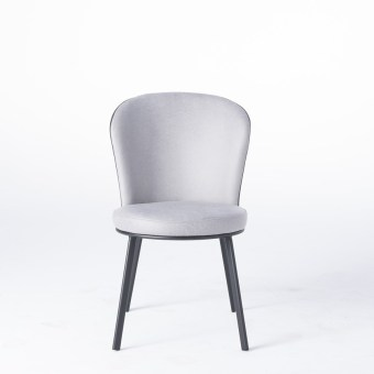 dkf33-china modern design home kitchen metal fabric dining chair supplier manufacturer-furbyme (1)