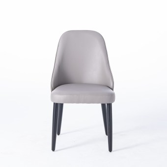 dkf54- china modern design home kitchen wood leather dining chair supplier manufacturer-furbyme (1)