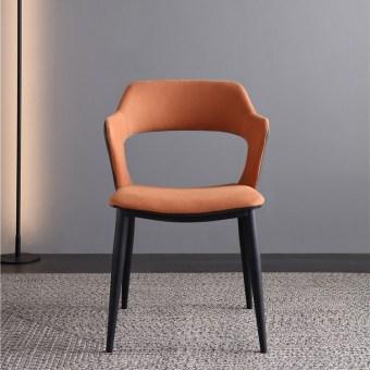 dkf70-china modern design home kitchen metal fabric dining chair supplier manufacturer-furbyme (1)