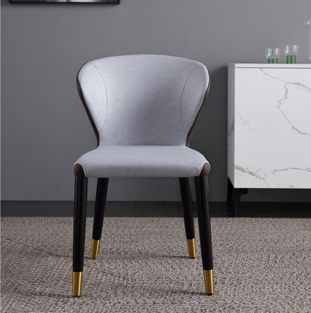 dkf81-china modern design home kitchen metal leather fabric dining chair supplier manufacturer-furbyme (1)