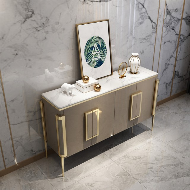 216china luxury home furniture storable metal wood side drawer table manufacturer supplier-furbyme (3)
