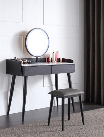 260China modern home furniture wood dress stool set manufactu (3)