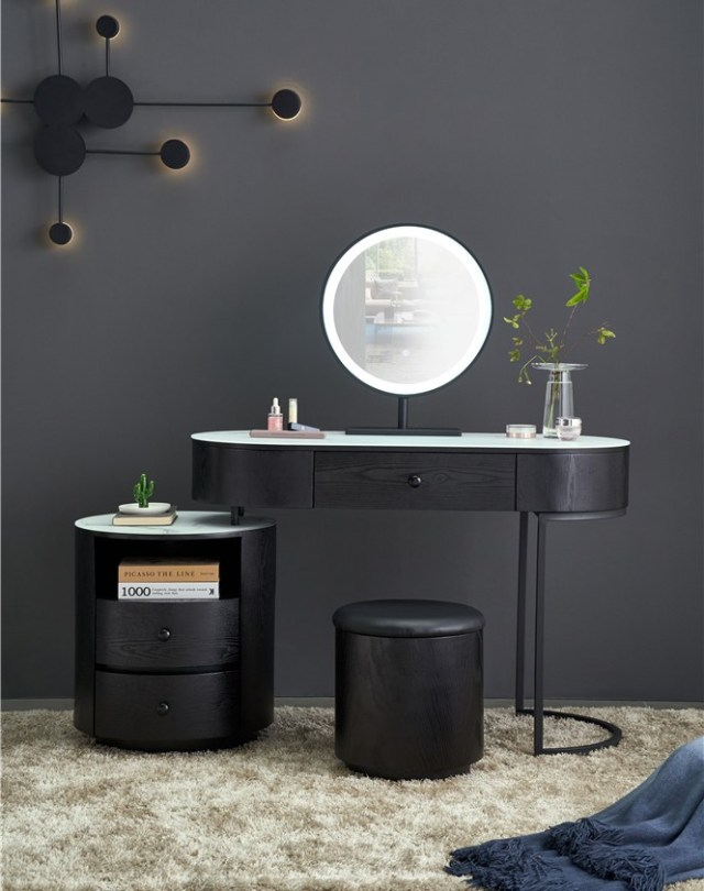 263china luxury home furniture storable metal dressing table stool manufacturer supplier-furbyme (1)