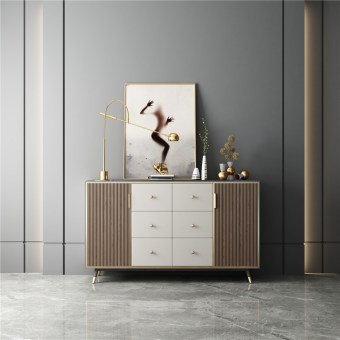 618china luxury home furniture storable metal wood side drawer table manufacturer supplier-furbyme (3)