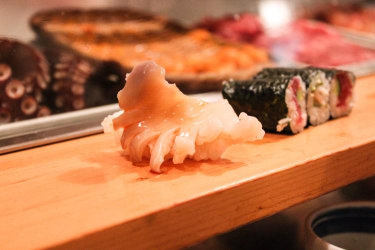 Sushi still alive