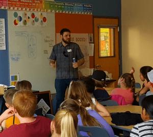 Austin Bouck classroom presentation