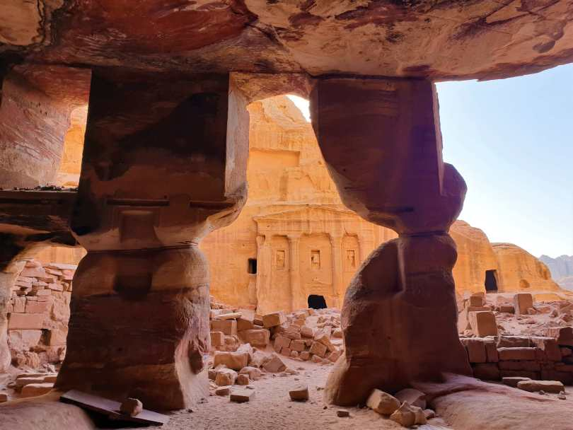 jordania en familia - petra
