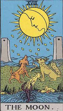 月のタロットカード
