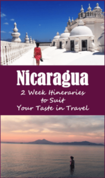 nicaragua itinerary
