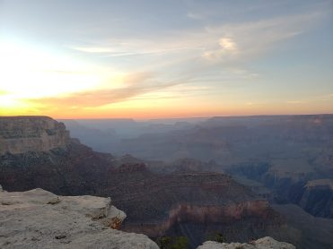 Sunset over the Grand Canyon!