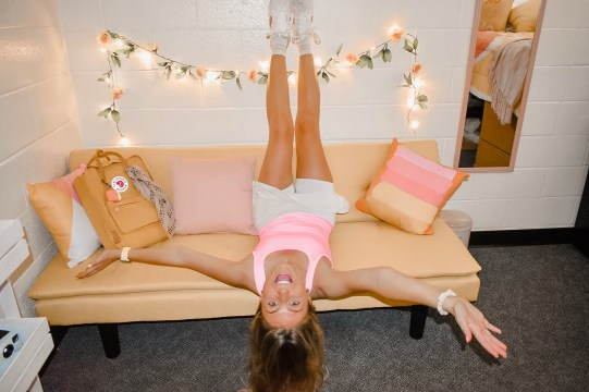My very first picture in my dorm room!