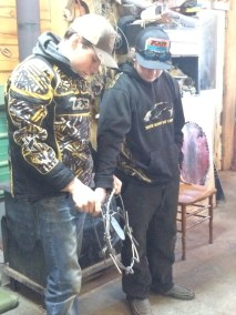 Trappers Course Tyler Potter and Tyson Cameron