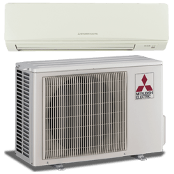 Ductless heat pump mini split system