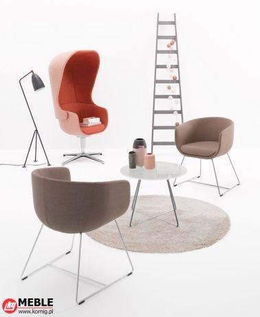 Kompaktowe siedziska Nu przeznaczone na konferencje i do relaksu