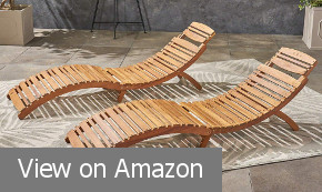 LIsbon Outdoor Folding Chaise