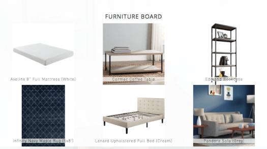 Studio furniture board