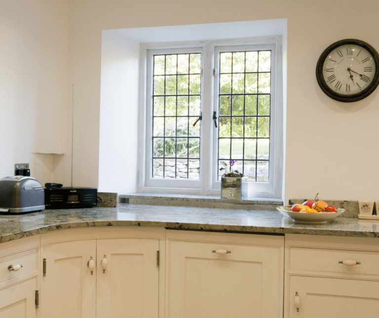 Plymstock, Plymouth Hand Painted Kitchen and Furniture in White