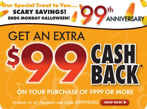 The RoomPlace Coupons - Halloween Specials