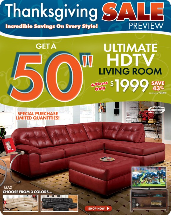 Thanksgiving Sale Furniture Sale RoomPlace