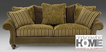 The Woodrow Collection Sofa by Cindy Crawford