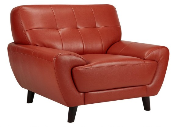 Natalie Orange Chair