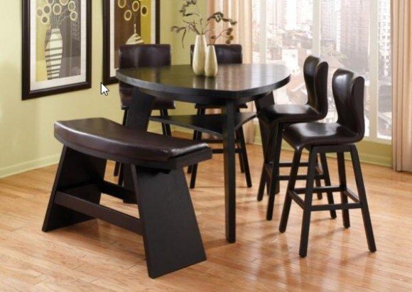 Irma 6 Piece Rounded Dinette Set From The RoomPlace