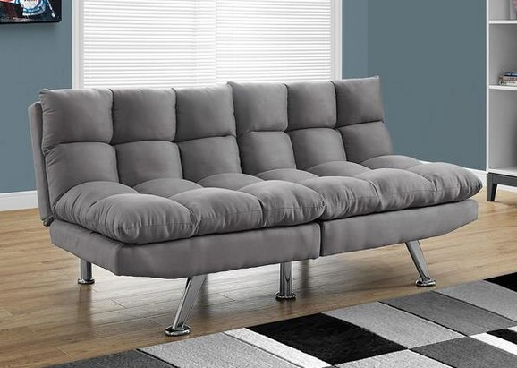 Cloud Gray Futon From The RoomPlace
