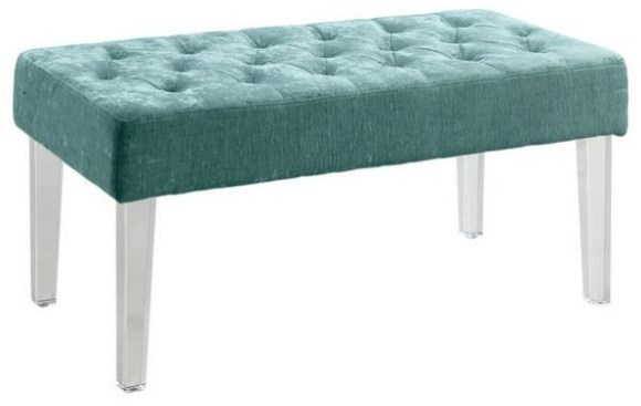 Trenton Blue Bench from The RoomPlace