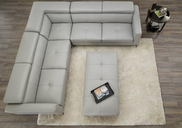 Lola Platinum 3 Pc. Sectional from The RoomPlace
