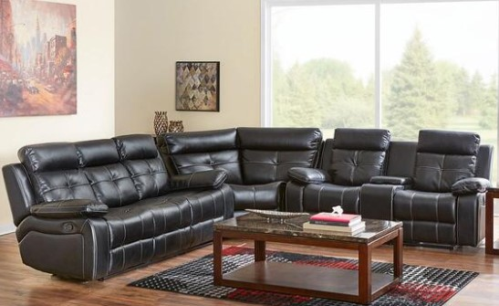 Nirvana 3 Pc. Sectional from The RoomPlace