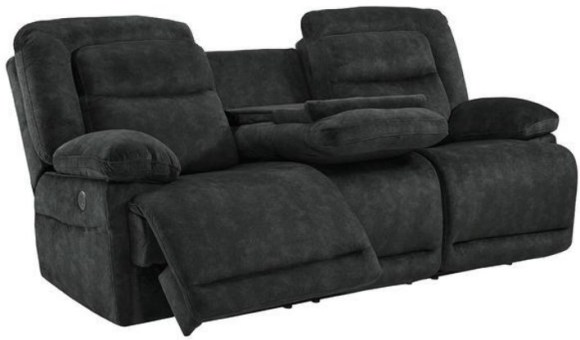 Tory Fabric Power Reclining Sofa from The RoomPlace