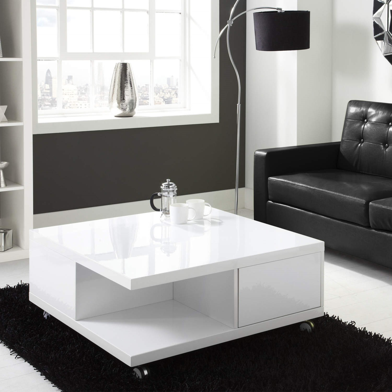 high gloss white storage coffee table tiffany range