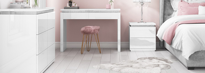 high gloss bedroom collections