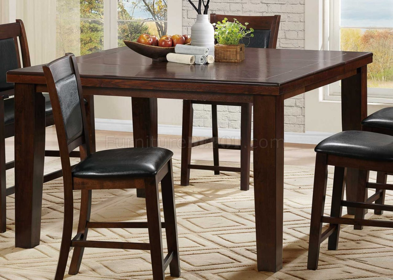 Weldon 2622-36 Counter Height Dining Table By Homelegance