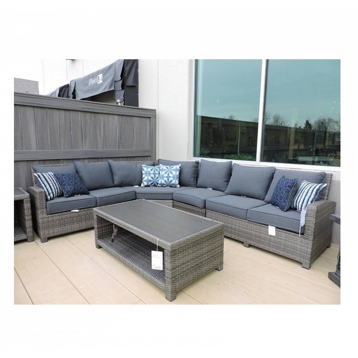 ashley furniture salem beach outdoor patio furniture collection