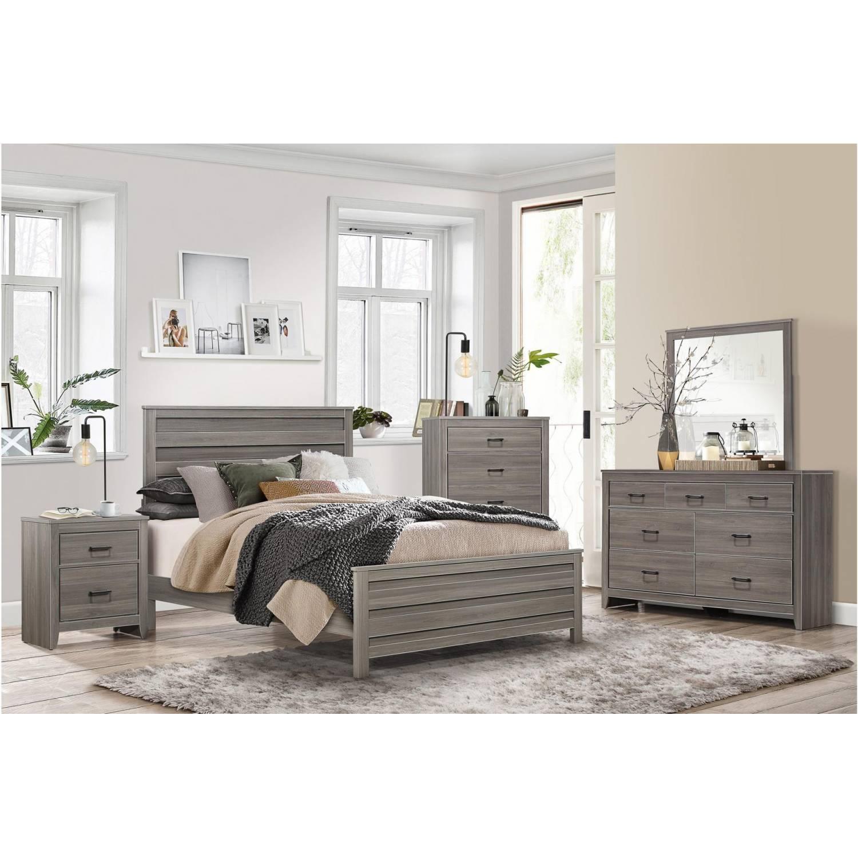 1902k ckgr waldorf california king bedroom set gray tone