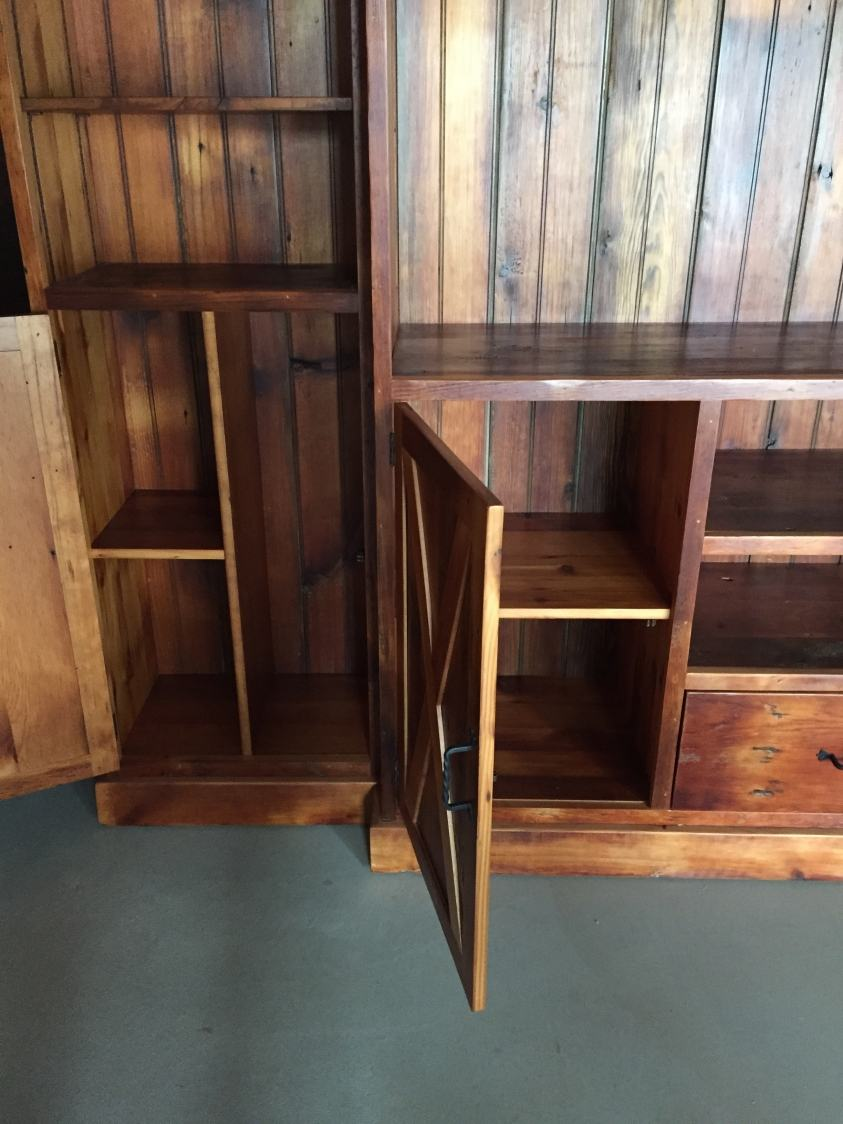 Entertainment Cabinet With Small X Style Doors Furniture