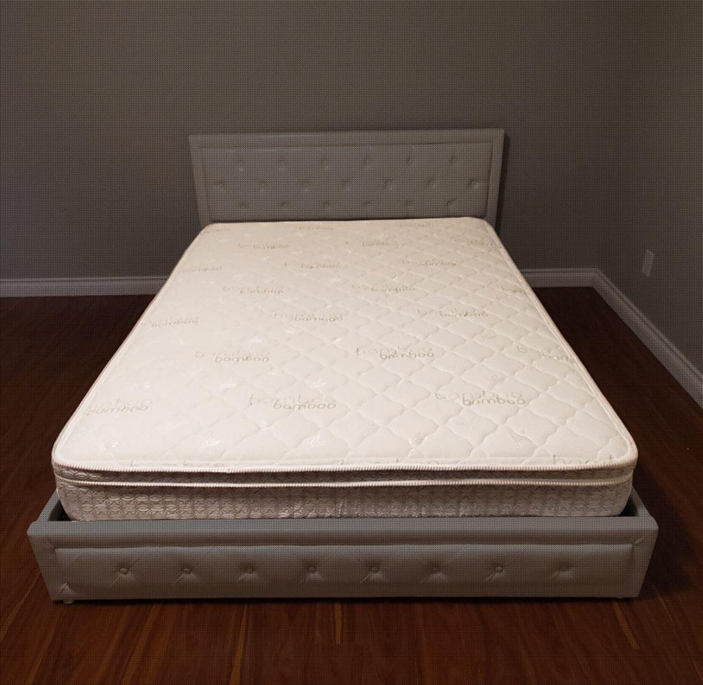 10 firm pillow top mattress coconut pad furniture garage store