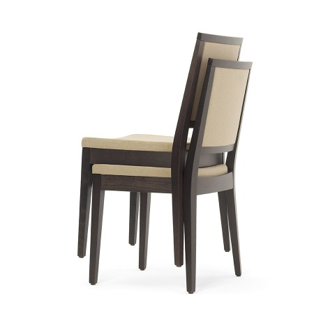 stacking restaurant chair