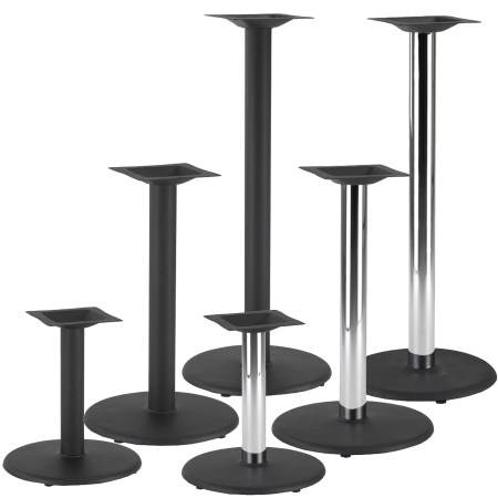 Circle Cast iron Table bases