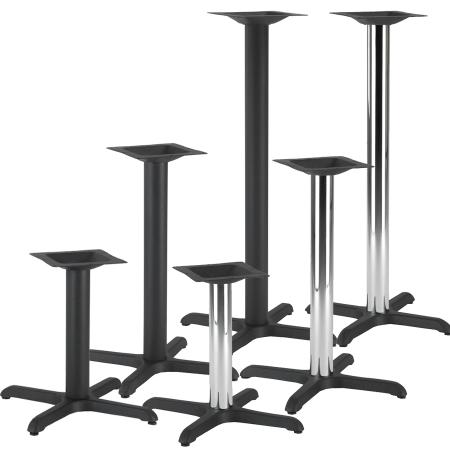 Cross Cast iron table base